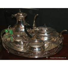 Five Piece Silver Plated Tea Service