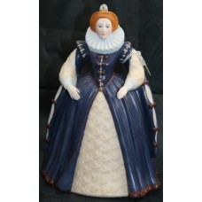 Franklin Mint Figurine 'Elizabeth I'