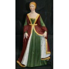 Franklin Mint Figurine 'Isabella of Spain'