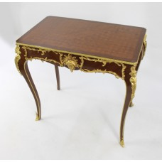 French Kingwood Rectangular Centre Table with Ormolu Mounts