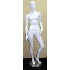 Quality Full Size 6 ft Female Dress Mannequin Rotating Limbs on Stand