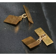 Gents 9ct Gold Cufflinks