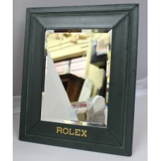 Genuine Rolex Leather Dispaly Table Mirror