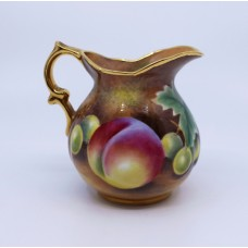 Hand Painted Fruit Cream Jug by Leaman
