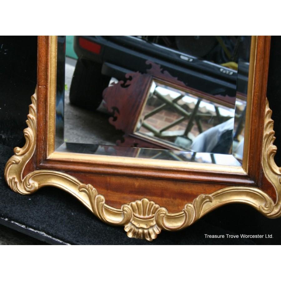 Harrison Amp Gil Gilt Amp Silvered Mahogany Mirror