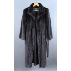 Harrods Full Length Black Mink Coat