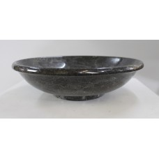 Italian 20th c. Lipped Marble Centrepiece Bowl