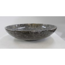 Italian 20th c. Variegated Marble Centrepiece Bowl
