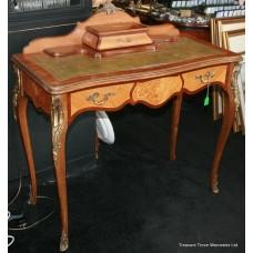 Elegant French Style Inlaid Ladies Writing Desk