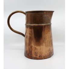 Large 18th c. English Antique Copper Ale Jug