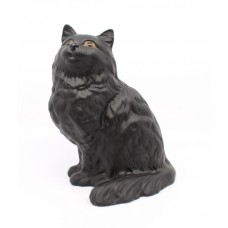 Large Beswick Black Cat 1867