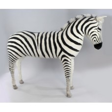 Hansa Very Large Soft Toy Zebra