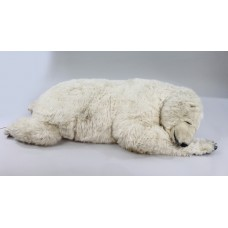 Large Michel Taillis Automated Sleeping Polar Bear