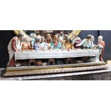 Capodimonte 'The Last Supper' Figural Group by Giacomo Leotti