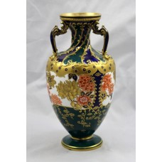 Late 19th c. Royal Crown Derby Cabinet Vase