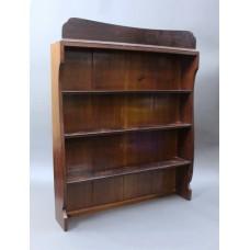 Mahogany Dresser Top Shelves
