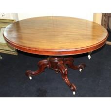 Mahogany Late 19th c. Oval Table