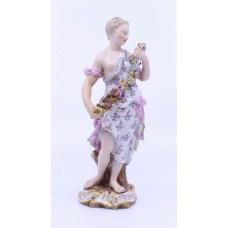 19th c. Meissen Friedrich Elias Meyer C 84 Figurine Spring