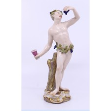 19th c. Meissen Friedrich Elias Meyer C 82 Figurine Autumn