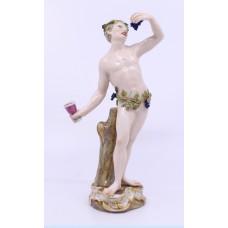 19th c. Meissen Friedrich Elias Meyer C 82 Figurine Autumn