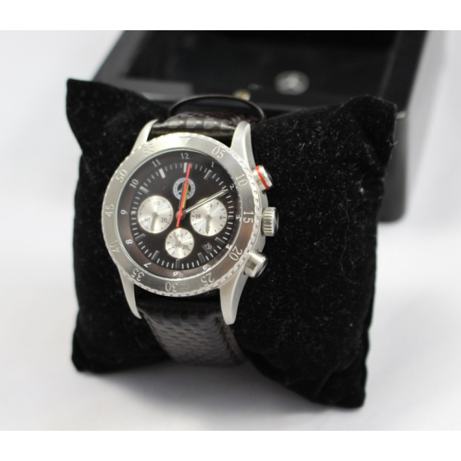 mercedes benz collection chronograph wristwatch unworn in. Black Bedroom Furniture Sets. Home Design Ideas