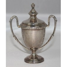 Miniature Silver Trophy Cup London 1929