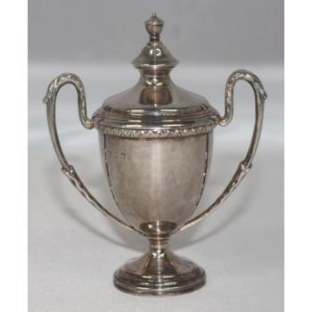 Miniature Silver Trophy Cup London 1929