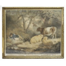 Morland's Summer Coloured Mezzotint by William Barnard (1774–1849)