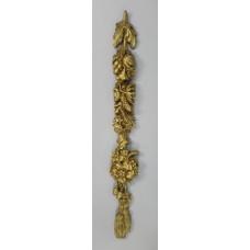 Ornate Gilt Plaster Wall Applique Decoration