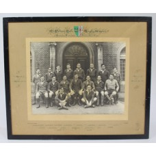 Oxford University St Peter's Hall Rugby XV 1936-37 Photograph