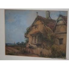 Marian Alice Montford (nee Dibdin) (English,born 1882) Watercolour