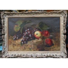 Pair of Still Life Oil Paintings by Lilian Baker