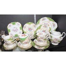 Paragon Rockingham Fine Bone China Tea Service
