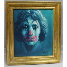 Portrait of Clown by Keith English (British, born 1966)
