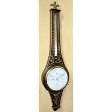 Handsome Prince of Wales Barometer by Comitti of London