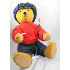 Bing Germany Golfing Teddy Bear