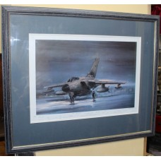 """Signed Limited Edition RAF Tornado Print """"In the Air Tonight"""" by Michael Rondot"""