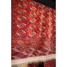 Red Persian Rug 9ft 7in x 7ft