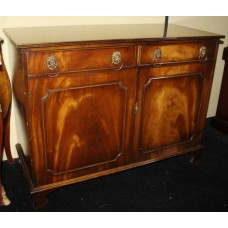 Flame Mahogany Regency Style Sideboard Drinks Cabinet