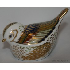 "Royal Crown Derby ""Firecrest"" Paperweight"