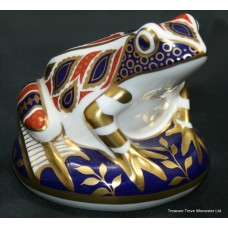 "Royal Crown Derby ""Frog"" Paperweight"