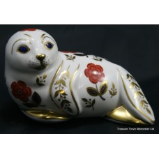 "Royal Crown Derby ""Seal"" Paperweight"