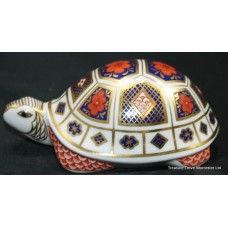 "Royal Crown Derby Imari ""Tortoise"" Paperweight"