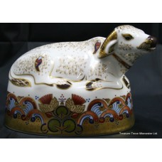 "Royal Crown Derby ""Water Buffalo"" Paperweight"