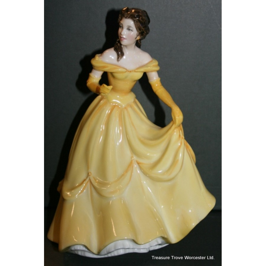 Royal Doulton Disney Princess Figurine Belle Hn 3830