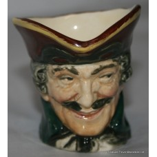 Royal Doulton Small Character Toby Jug Dick Turpin