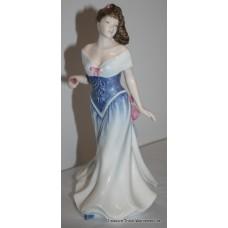 """Royal Doulton """"For You"""" HN 3754 Porcelain Figurine"""