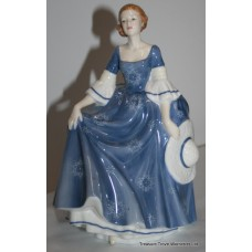 "Royal Doulton Figurine ""Hilary"" Pretty Ladies"
