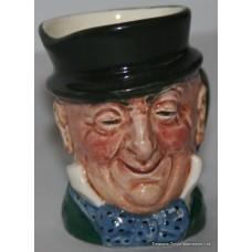 Royal Doulton Small Character Toby Jug Micawber