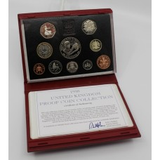 Royal Mint Cased 1998 Proof Coin Collection
